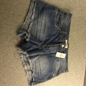 NWT brand new Freyed Jean Shorts